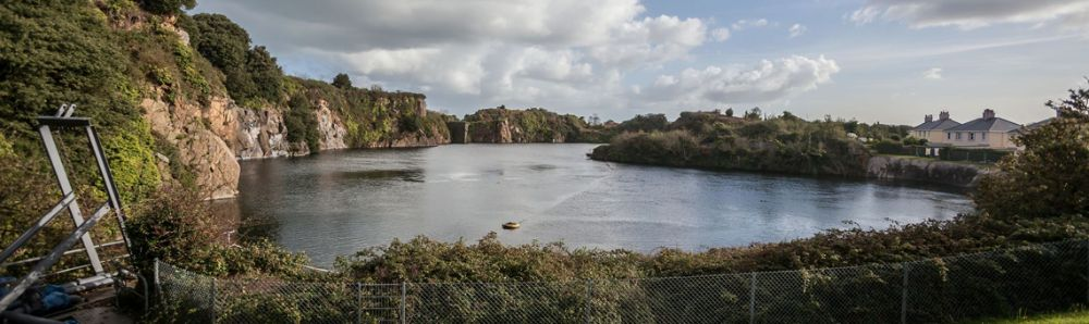 A Guernsey Water Reservoir